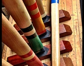 RESERVED FOR DARYL - Extreme Croquet Mallet Set with Posts