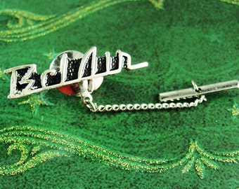 1957 Belair Tie tack Vintage 57 chevy Automobile Exhibition classic Mens Novelty Cuff Jewelry cravat holder chevrolet hipster clasp