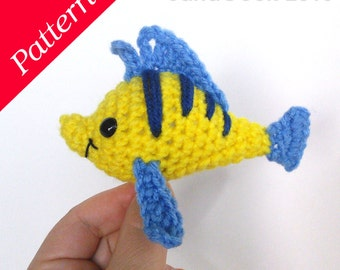 Little Mermaid's Fishy Friend Crochet Pattern