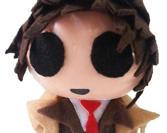 Chibi Figurine Inspired by Dr. Who | Dr. Who Fans Paraphernalia | Dr. Who Fans Forever | Dr. Who Decor | Dr. Who Sculpture | Gift Idea