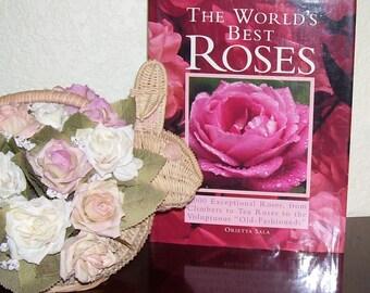 The WORLD'S BEST ROSES by Orietta Sala  1990 1st ed