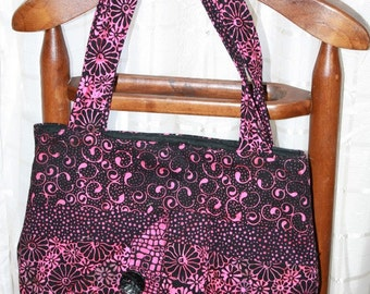 Custom Made Quilted Tote