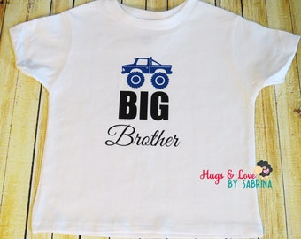 Big Brother Toddler Shirt  - Any size