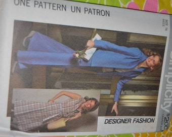 SImplicity 8019 Misses Skirt Pants and Shirt Sewing Pattern - UNCUT -  Size 12 or Size 16