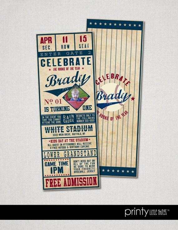 Vintage Baseball Ticket 79
