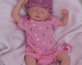 EASTER SALE! Reborn baby girl, Lucy sculpt by Marissa May, ready to come home!