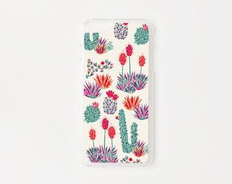 iPhone 6 Plus Case - Cactus iPhone Case - Floral iPhone Case - Litoral Central - Flor de Chile Special Collection