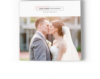 Photography Marketing Brochure - 5x5 Trifold - SOHO Studio - 1375