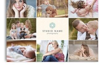 Photography Marketing - 5x7 Promo Card Post Card Template - Grazia - 1134