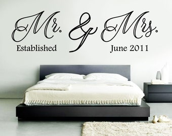 Bedroom Wall Graphics Family Vinyl Quotes Etsy .