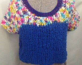 Vintage Women's Hand Knitted Top