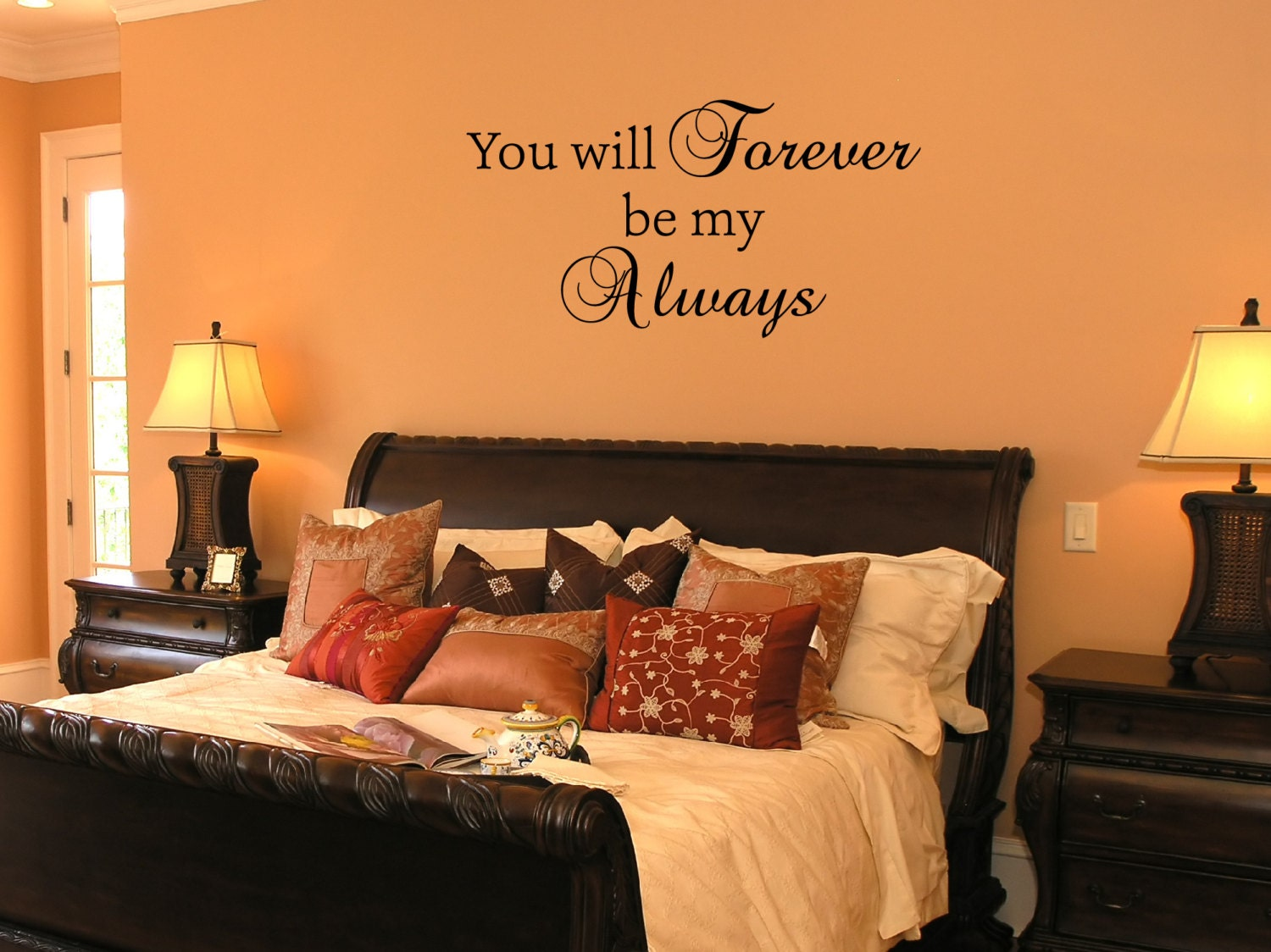 You Will Forever Be My Always Wall Decal by DavisVinylDesigns