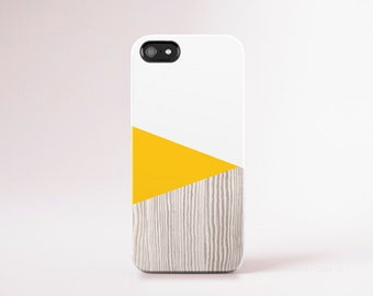 Yellow iPhone 6 Case iPhone 6 Plus Case Wood Print iPhone 5 Case Pantone iphone 5s Case Yellow iPhone 5C Case Yellow Galaxy S5 Case