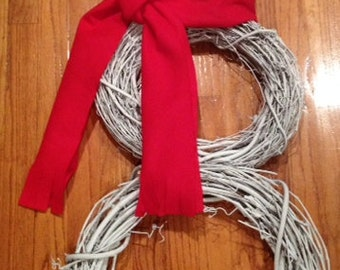 Snowman Grapevine Wreath