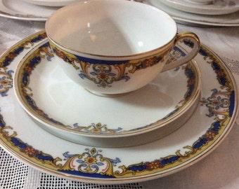 Vintage ROYAL EPIAG CZECHOSLOVAKIA Porcelain Tea Set