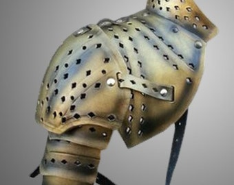 items similar to barbarianwarrior style segmented leather