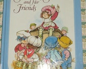 Strawberry Shortcake and Her Friends Vintage Hardcover Book Antique Style FUN