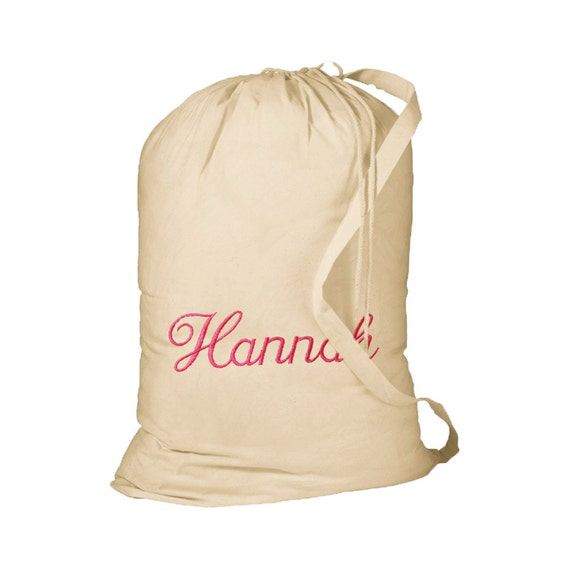 Canvas Strap For Bag Canvas Laundry Bag With
