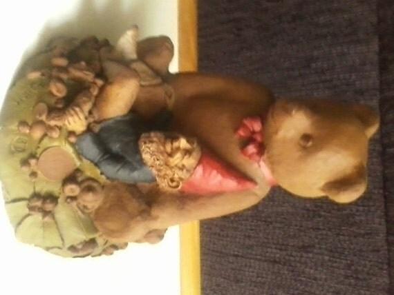 Tom Clark Cairn Studio 1984 Bear and Garden Gnome