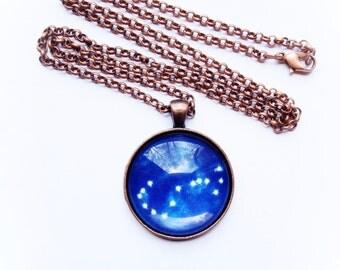 Scorpio Astrology Necklace