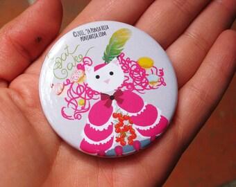 Marie Antoinette, pinback button 2.16 in