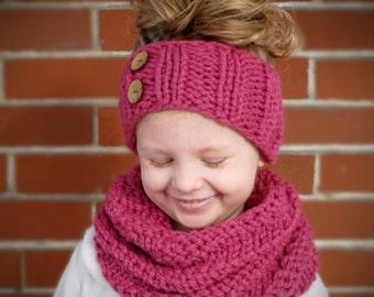 Kids infinity scarf Etsy