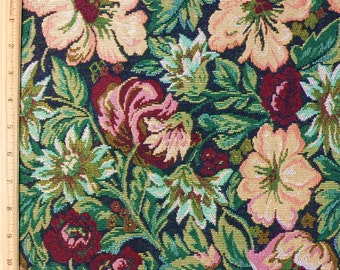 Floral Tapestry Fabric Yardage - 55""