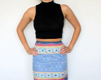 The Candy Skirt - High Waisted Skirt XS