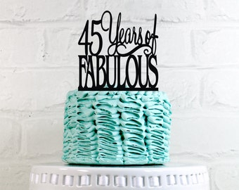 45th birthday | Etsy