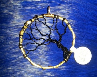 Black and Gold Tree of Life (G)