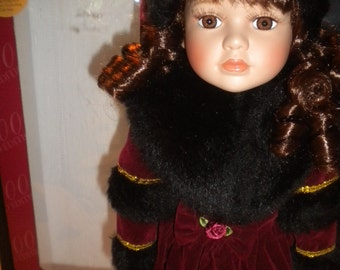 Alexandra Pricelain Doll. 2000 Limited Edition