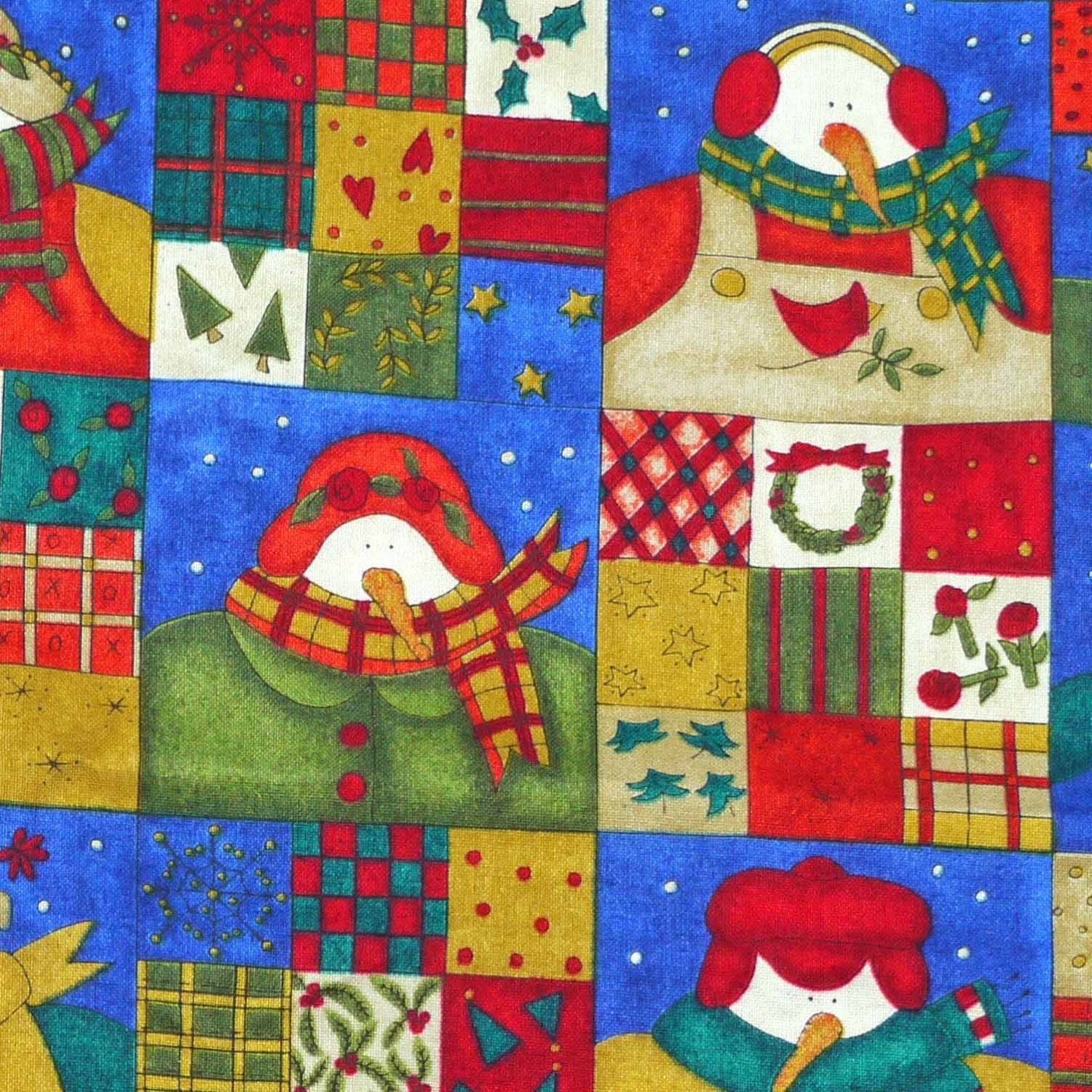 Quilting cotton christmas print fabric kp kids ssi for Kids print fabric