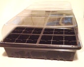 2  - Seed Starting Kit or Growing Kit - 3pc Kit with Flat, Cell Tray & Humidity Dome, Growing Supplies, Seed Propagation, Indoor Gardening