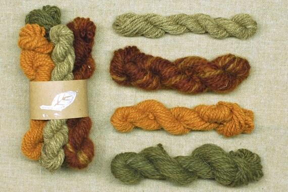 Crocheting Yarn For Sale : SALE - Weaving Kit, Knitting, Crochet Yarn, Natural Dye Yarn, 100% ...