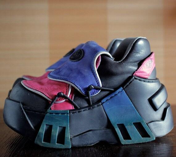 swear costume cyber platform shoes