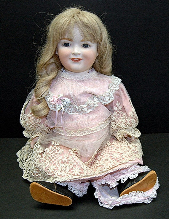 porzellanfabrik burggrub princess elizabeth doll made in. Black Bedroom Furniture Sets. Home Design Ideas