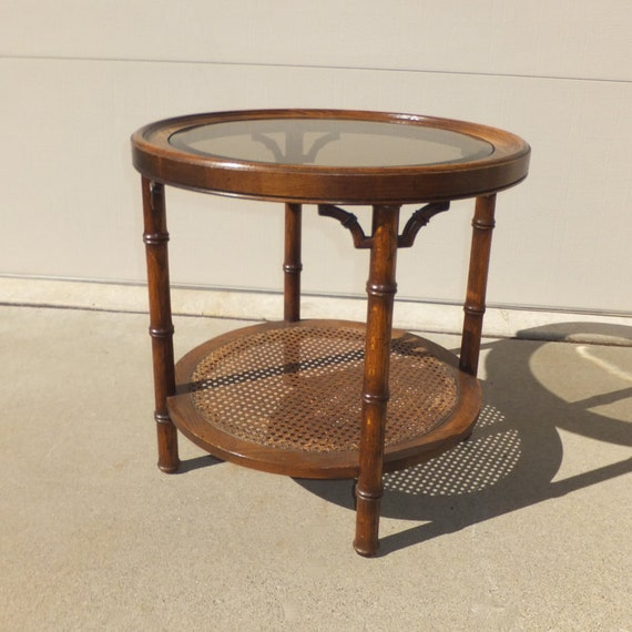 Bamboo Cane Coffee Table: Wood Glass & Cane End TableBamboo DetailCoffee By