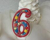 LEGO birthday candle, keepsake candle, anniversary candle, custom candle