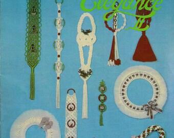 Craft Book: #GS17 Christmas Elegance Vol. II - Macrame Patterns & Instructions