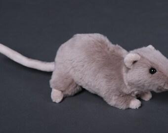 Pebbles the RAT plushie