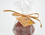 Honey Facial Bar Soap, Detergent Free Honey Soap, Myrrh Gum Powder Soap- 3 oz bar