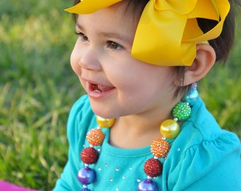 Yellow bow baby headband, baby girl headband, hair bows, yellow headbands, baby bows, infant headbands, 1st birthday, big bows