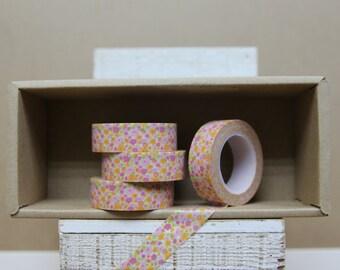 Pink Floral washi tape - 2005