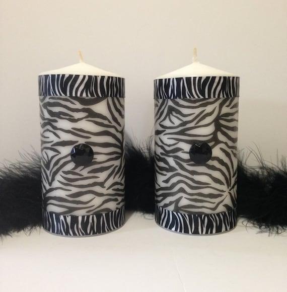 zebra print room decor 3