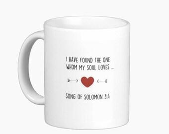 Wedding Favor Mug, Couple Mug