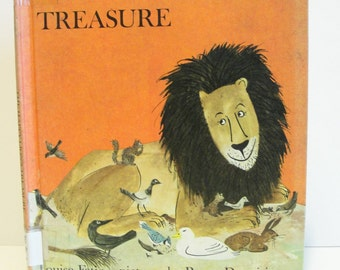 1970 The Happy Lion's Treasure Louise Fatio Roger Duvoisin Hardcover