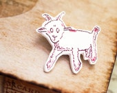 The Little Prince Jewelry - Little Prince Lamb Brooch - Kids Jewelry - Little Lamb Favor - Lamb Baby Shower - Little Prince Birthday Party