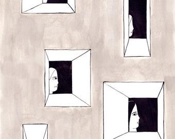 façade #1 by Ana Frois . digital print