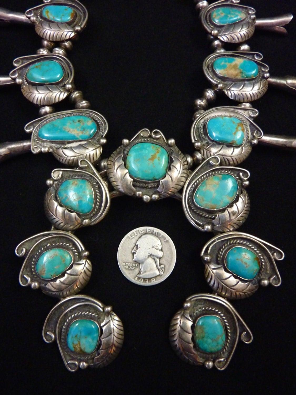 Navajo vintage turquoise jewelry