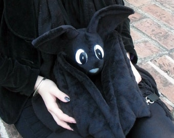 Bat Back bag (sewing job)